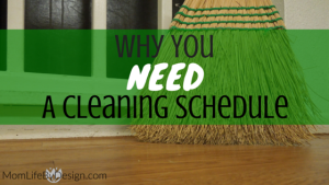 Why You Need A Daily Cleaning Schedule