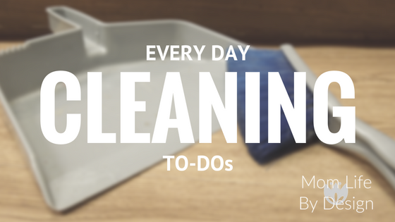 What House Cleaning Should Be Done Daily