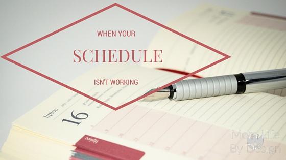Schedule Is Not Working