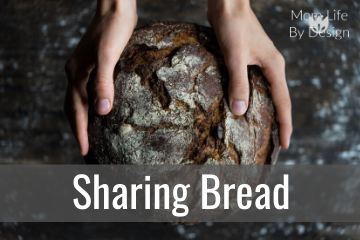 sharing bread